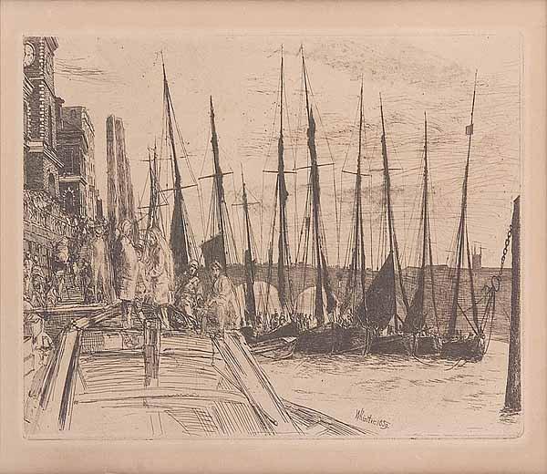 0003: James Abbott McNeil Whistler (American, 1834-1905