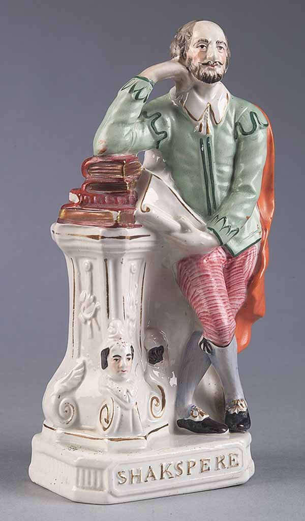 0006: Staffordshire Figure of Shakespeare