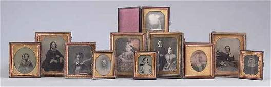 0581 Fine Collection of Eleven Cased Images of the B