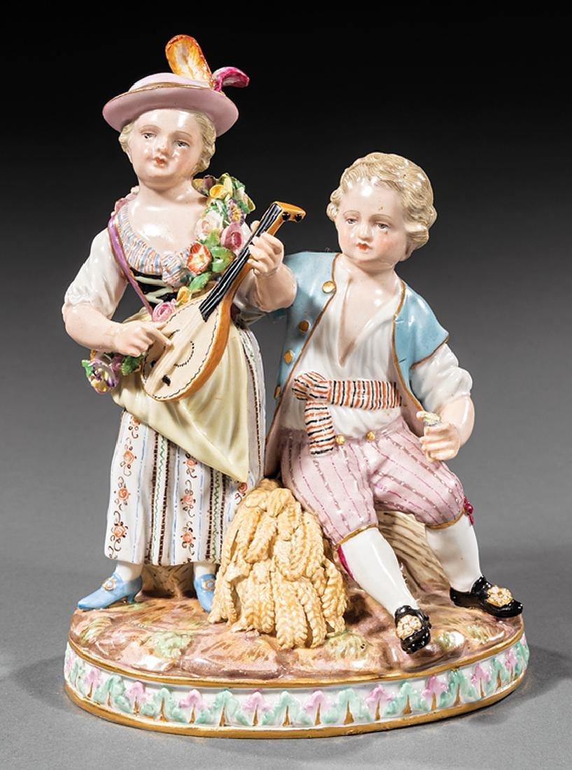 """Meissen Porcelain Figural """"Summer"""""""