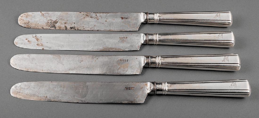 Irish Sterling Silver Handled Knives