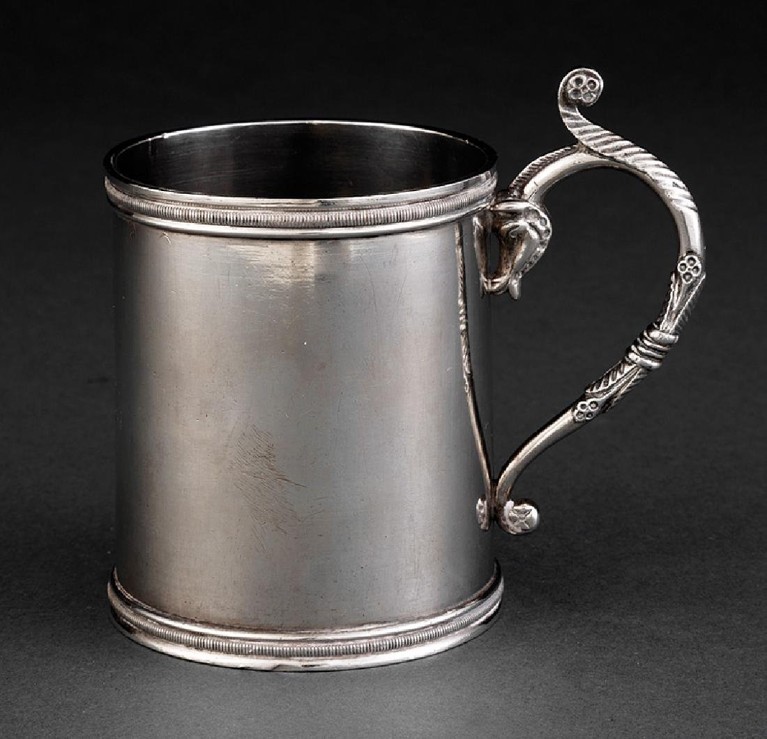 """French Colonial Silver Cup, """"A. Joubert"""""""