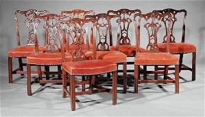 Mahogany Dining Chairs, attr. Schmieg & Kotzian