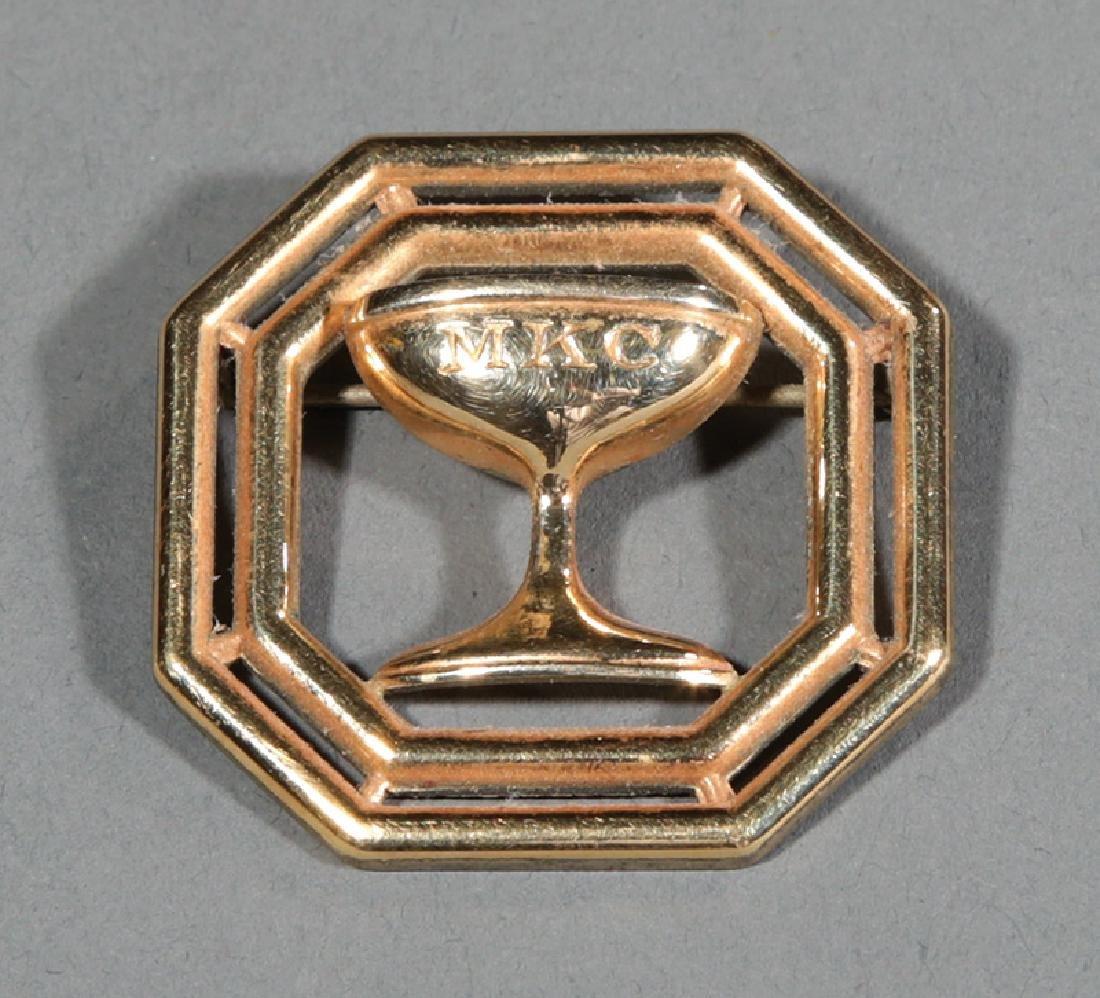 Mistick Krewe of Comus, Maid's pin, 1963