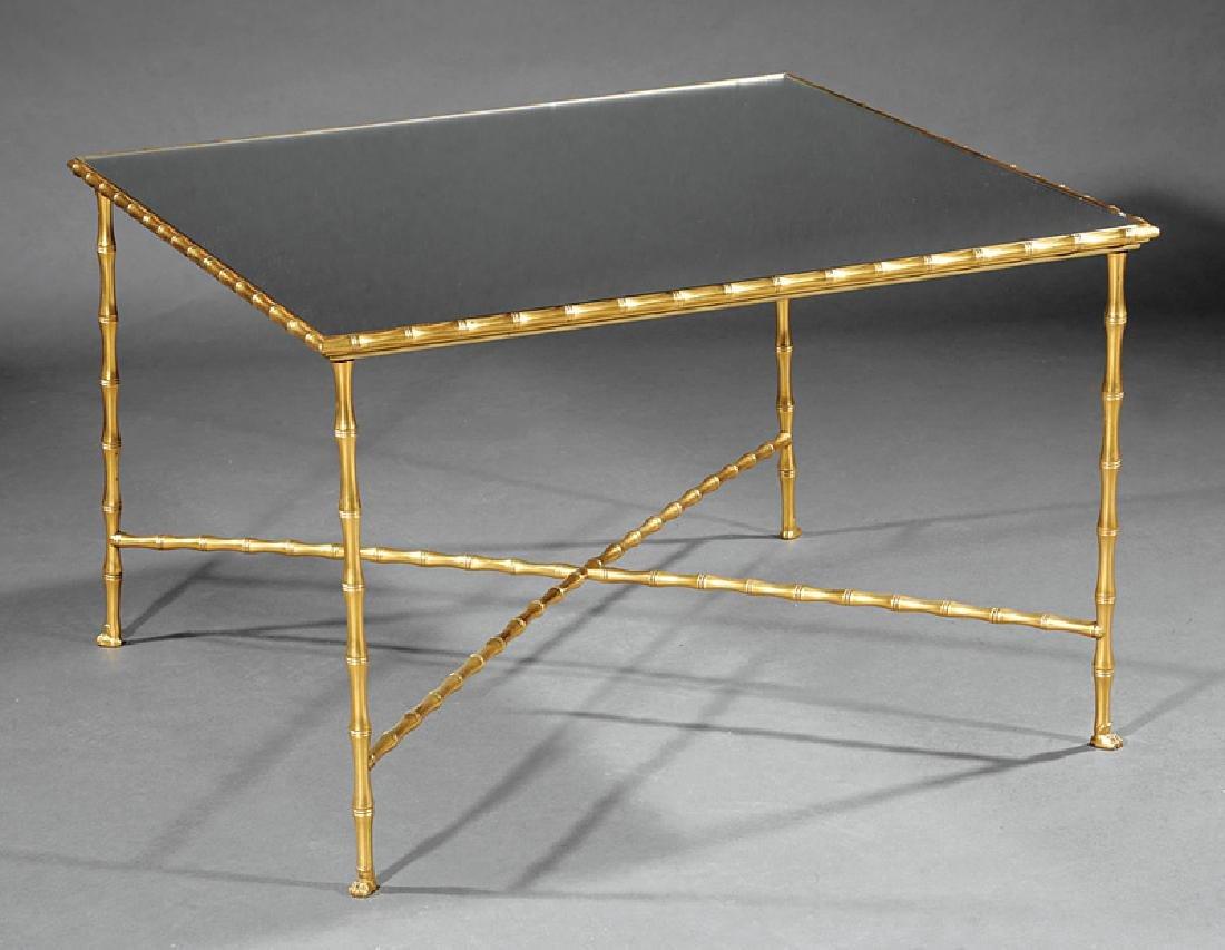 Bronze Coffee Table attr. Maison Bagues