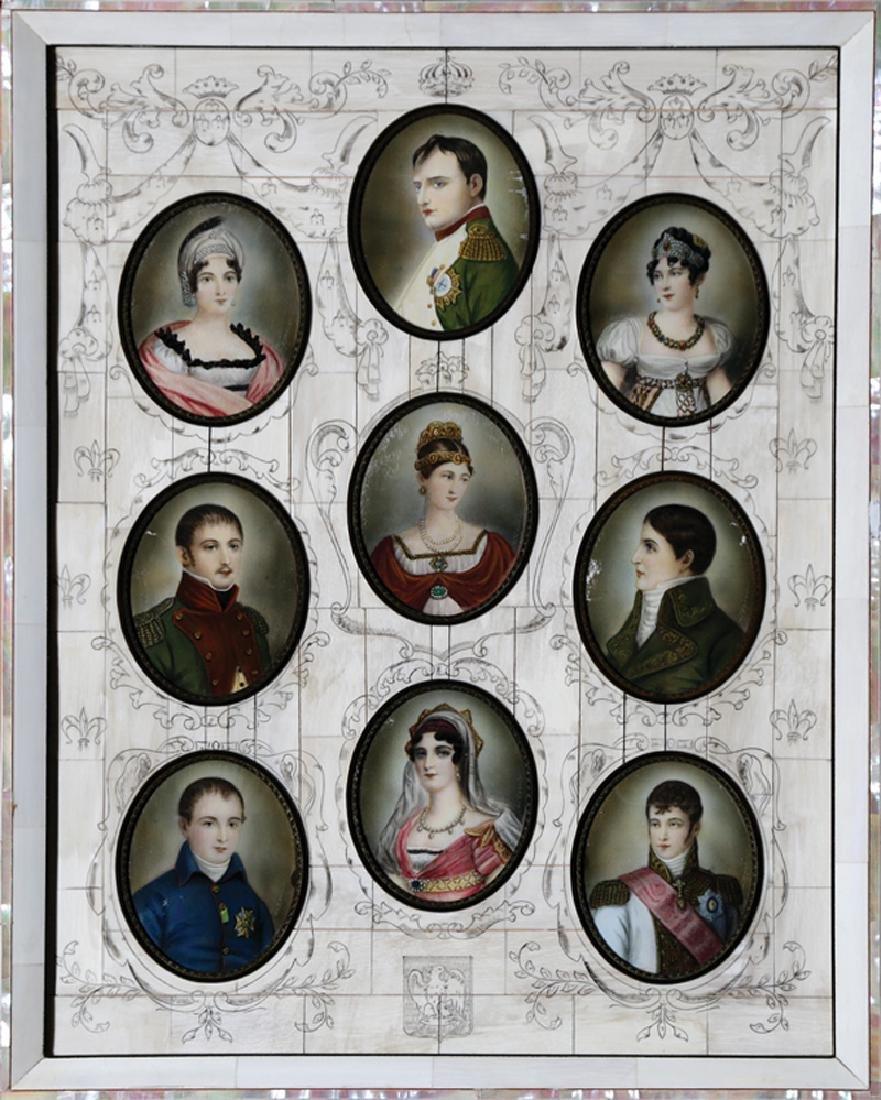 Portrait Miniatures Napoleon Bonaparte's Family