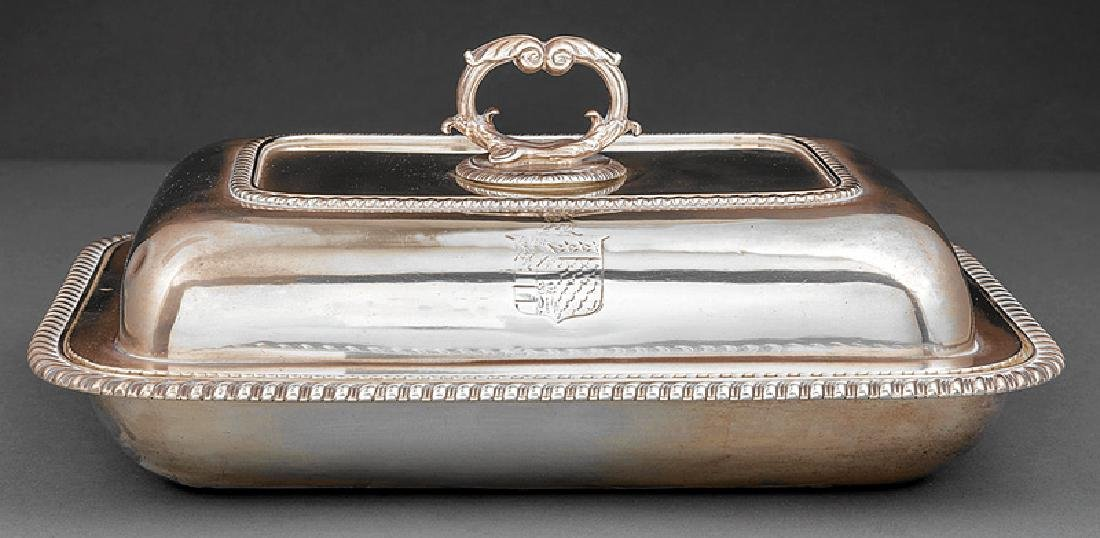 Garrard Sterling Silver Covered Entree Dish