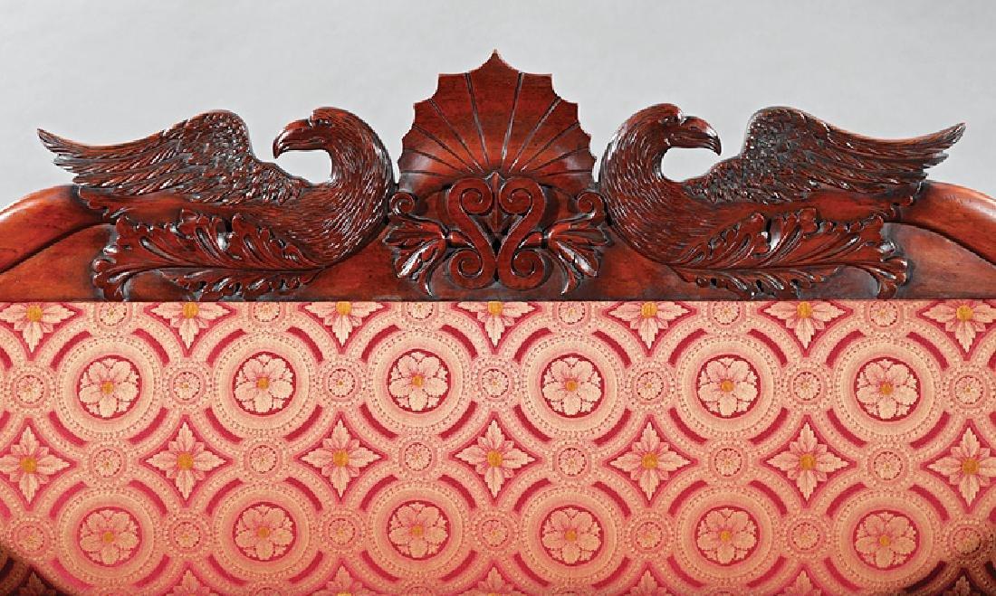 William IV Carved Mahogany Sofa - 3