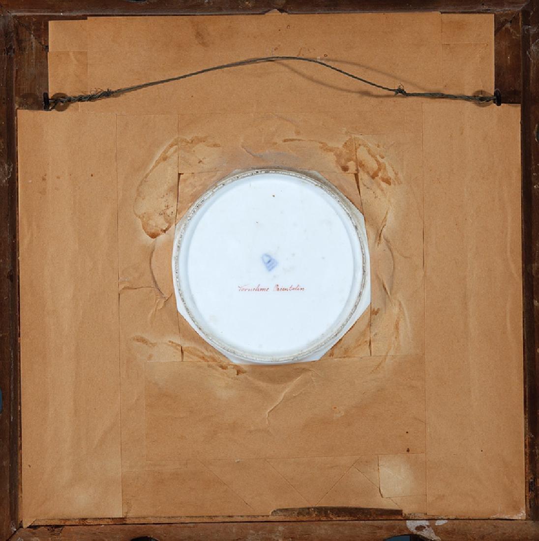 """Royal Vienna"" Porcelain Cabinet Plate - 2"