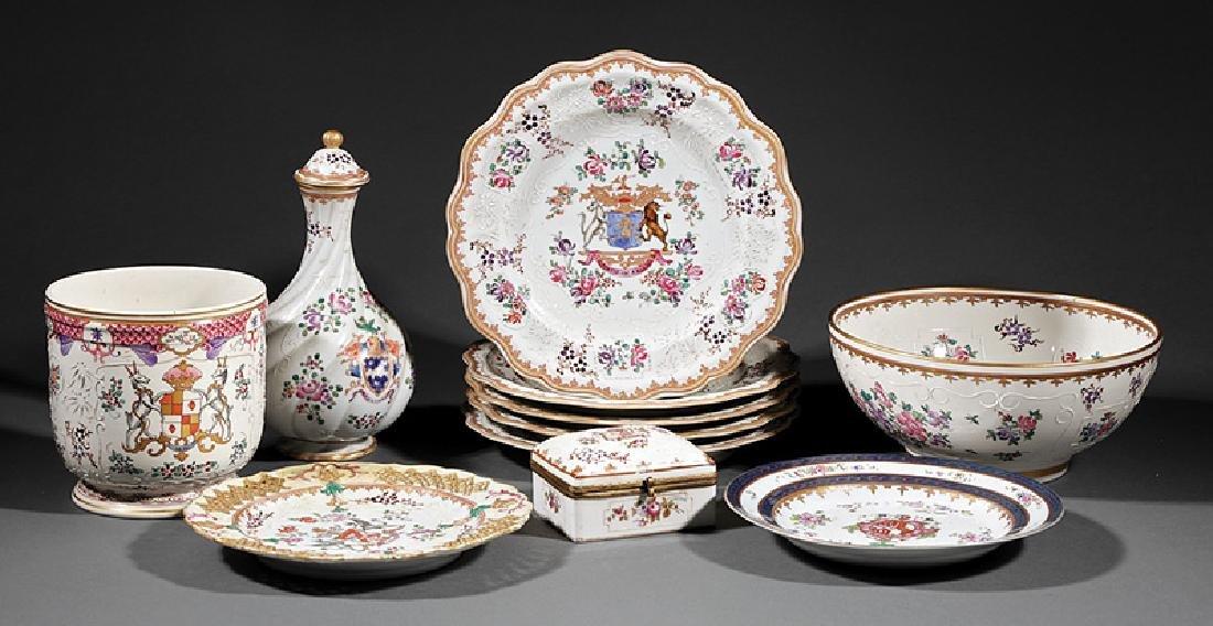 Chinese Export-Style Samson Porcelain