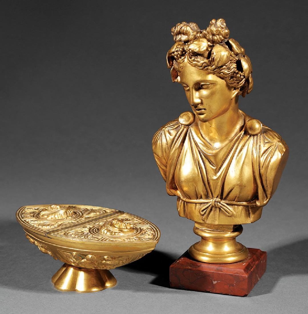 "Two French ""Grand Tour"" Bronzes"