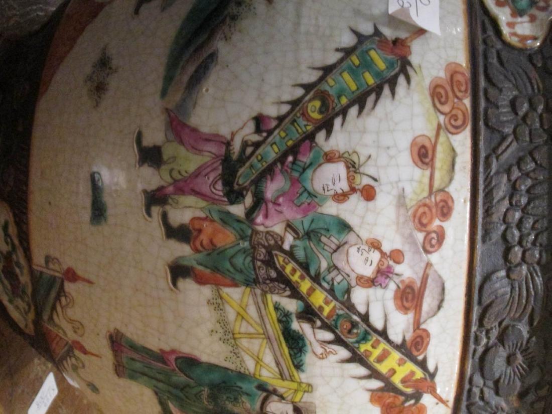 Chinese Famille Rose Porcelain Fishbowl - 6