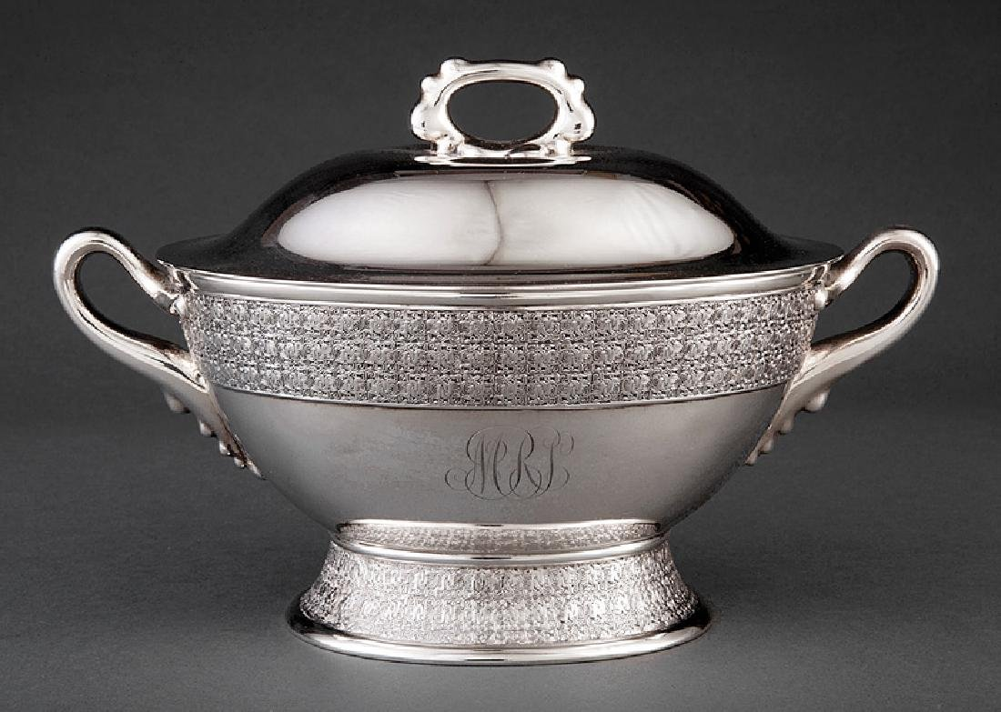 Tiffany & Co. Makers Sterling Silver Tureen