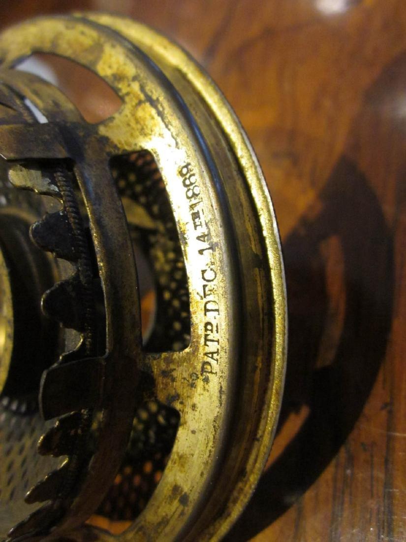 Ripley Clambroth Glass Wedding Lamp - 5