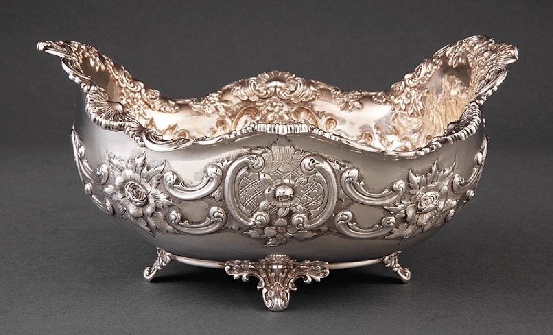 Tiffany & Co. Makers Sterling Silver Centerbowl