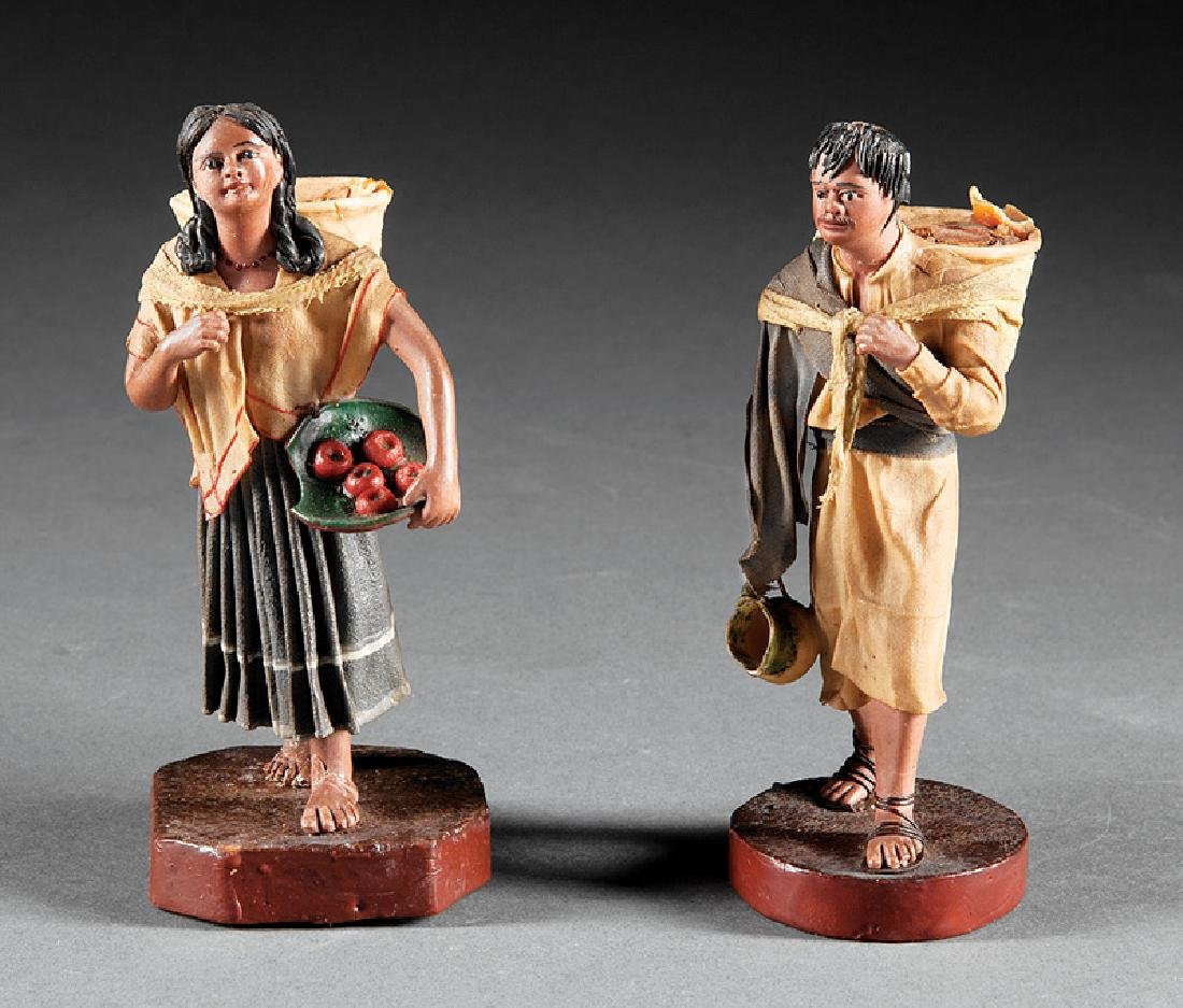 Francisco Vargas (b. Mexico, 1858) Wax Figures