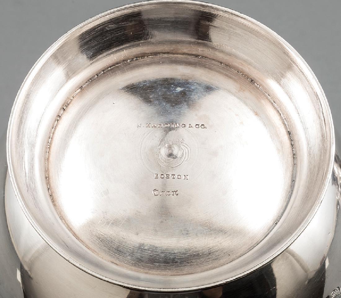 N. Harding & Co. Coin Silver Sugar and Creamer - 2