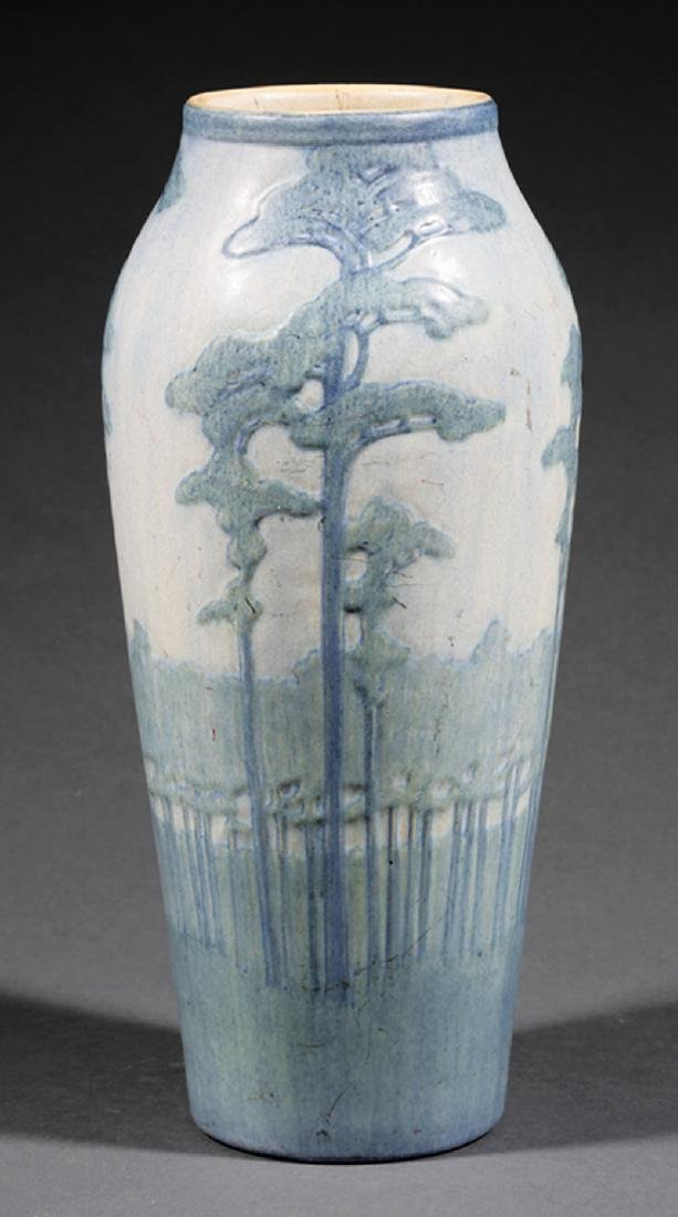 Monumental Newcomb College Art Pottery Vase