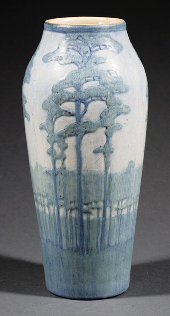 Monumental Newcomb College Art Pottery Vase - 3