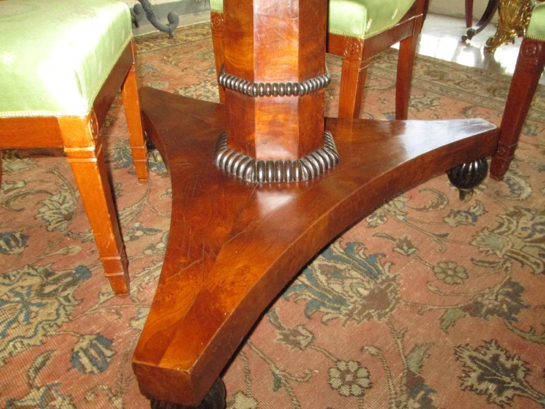 Late Regency Burled Walnut Breakfast Table - 4