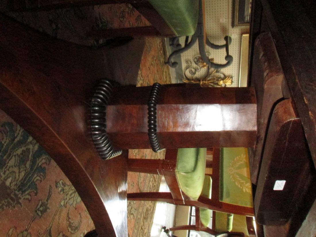 Late Regency Burled Walnut Breakfast Table - 5