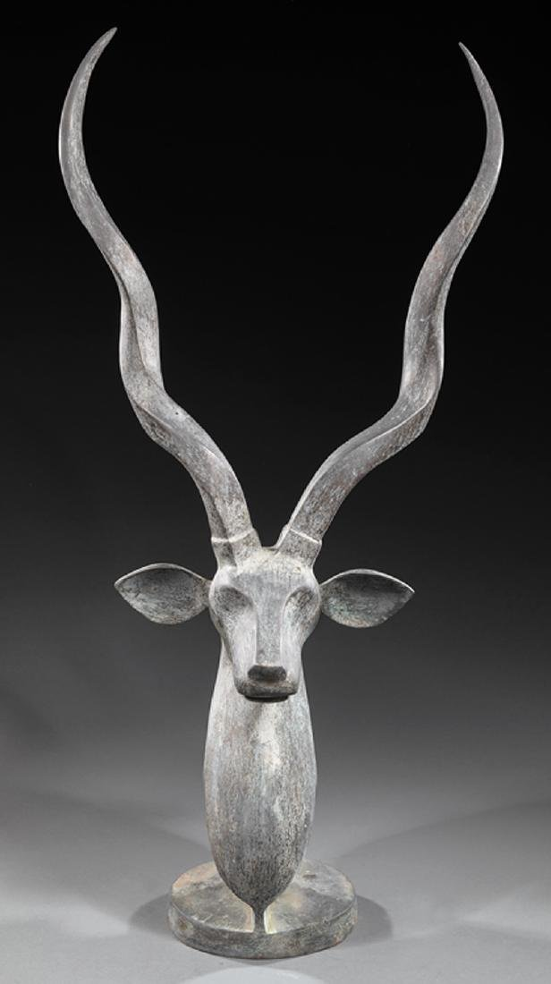 Bronze Figure of an Antelope