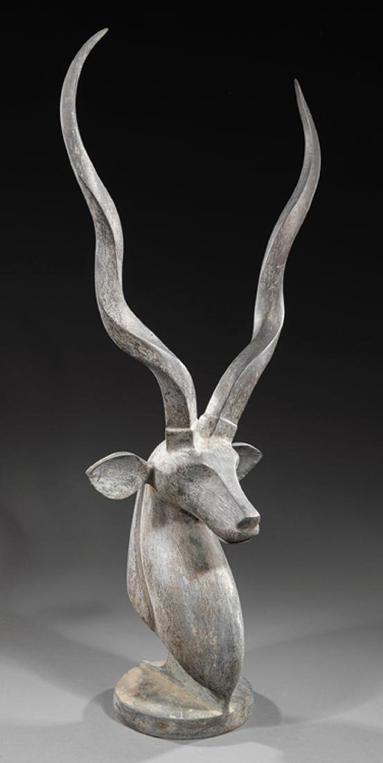Bronze Figure of an Antelope - 2