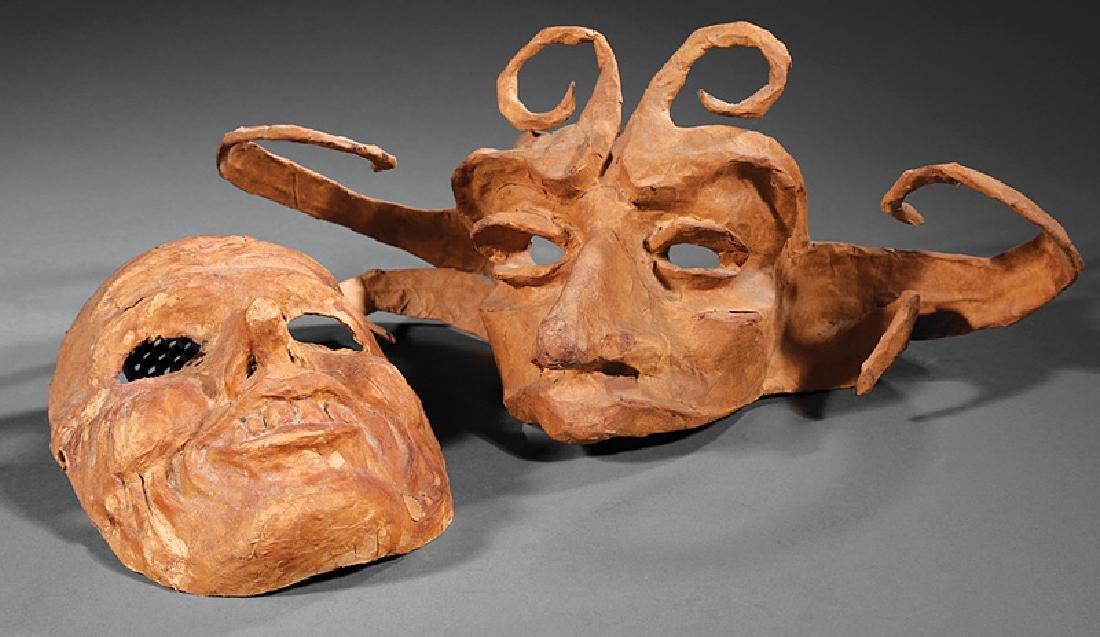 [Mardi Gras] Two Joe Barth Masks