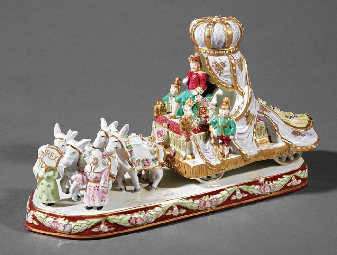 [Mardi Gras] Porcelain Rex King's Float