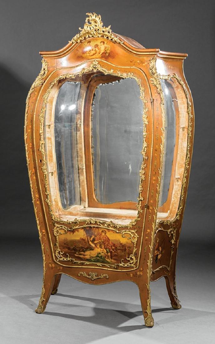 Louis XV-Style Gilt Bronze-Mounted Vernis
