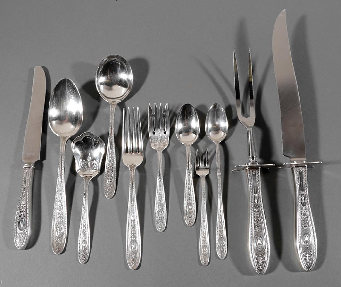 Sterling Silver Flatware Service, International