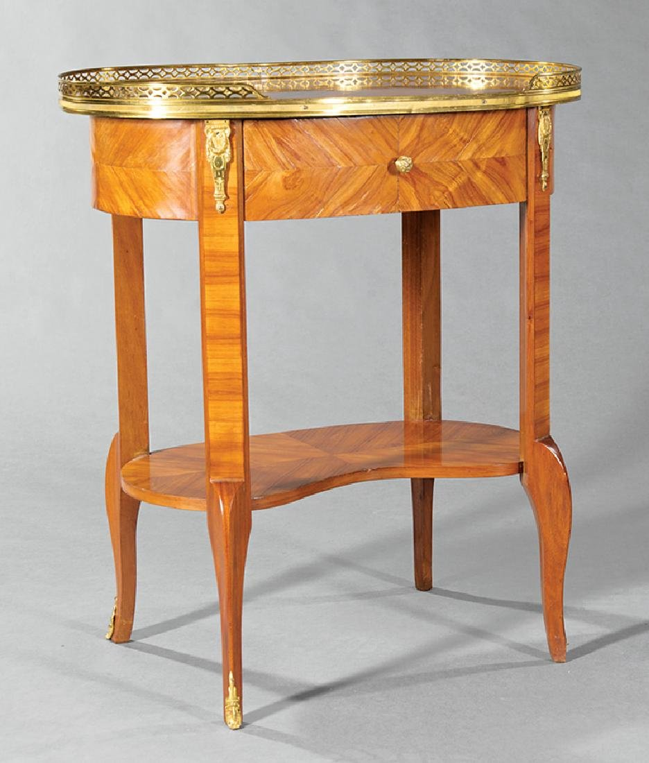 Kingwood Parquetry and Marquetry Table