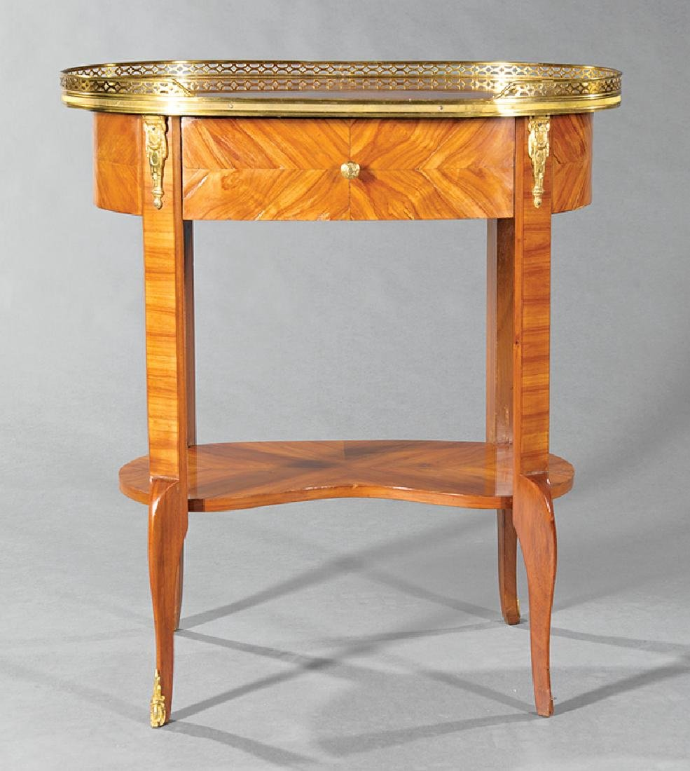 Kingwood Parquetry and Marquetry Table - 2
