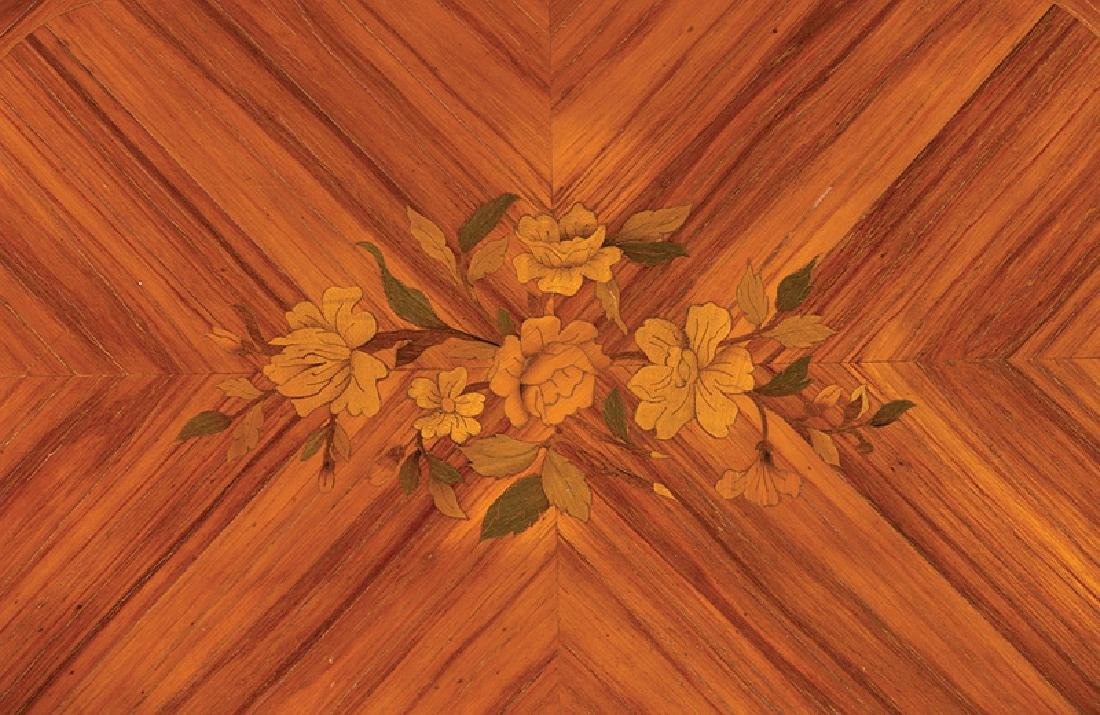 Kingwood Parquetry and Marquetry Table - 3