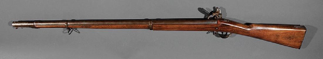 English Flintlock Fowling Rifle - 2