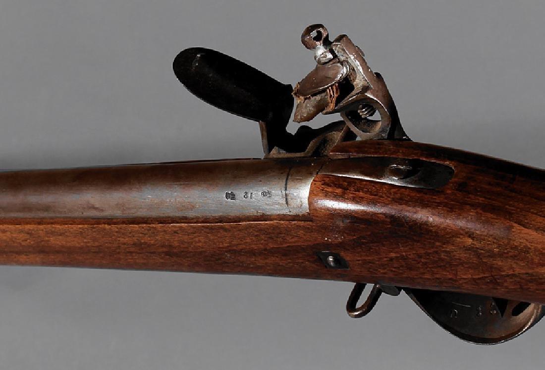 English Flintlock Fowling Rifle - 3