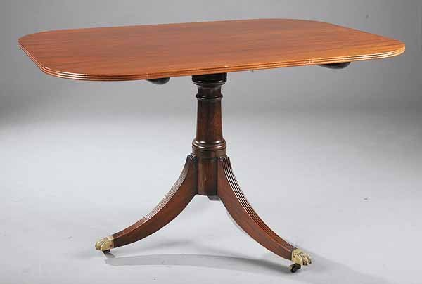 0013: George III Mahogany Tilt-Top Breakfast Table