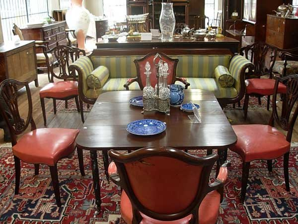 0099: Eight Old Colony Furniture Co. Dining Chairs, Nas - 2