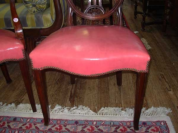 0099: Eight Old Colony Furniture Co. Dining Chairs, Nas - 6