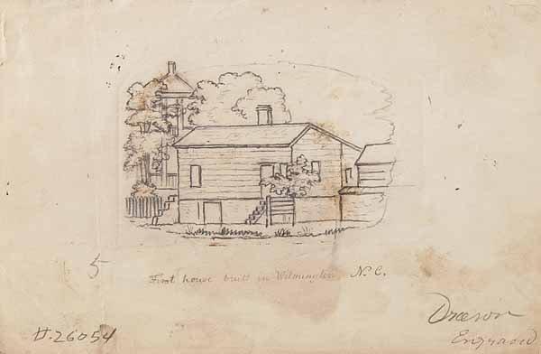 0314: John Warner Barber, pencil on paper