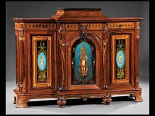Rosewood Parlor Cabinet attr. Herter Brothers