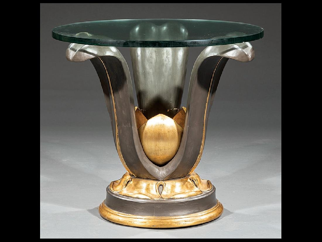 Polychromed and Gilt Tables attr. Louis Pistono