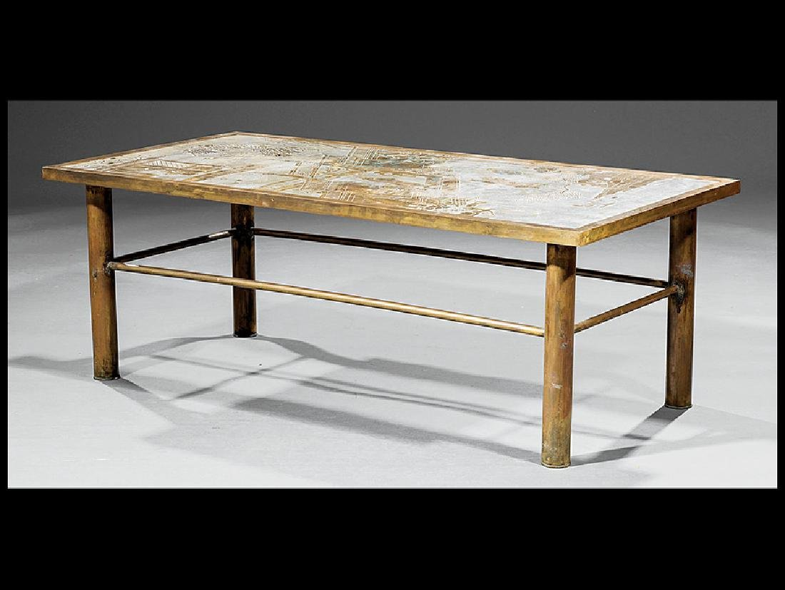 "and Kelvin LaVerne ""Ming"" Coffee Table"