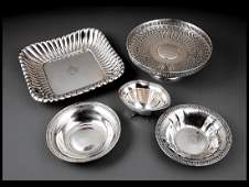 Group of American Sterling Silver Hollow Ware