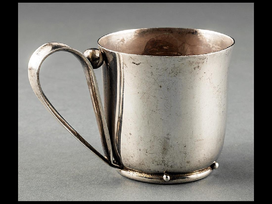 William Spratling Sterling Silver Cup