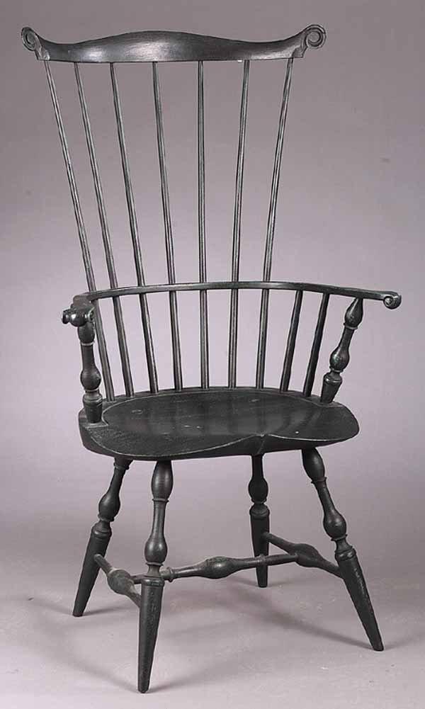0003: An American Fan-Back Windsor Armchair