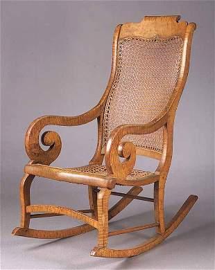 An American Late Classical Birdseye Ma