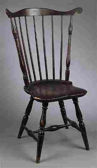 An American Fanback Windsor Chair