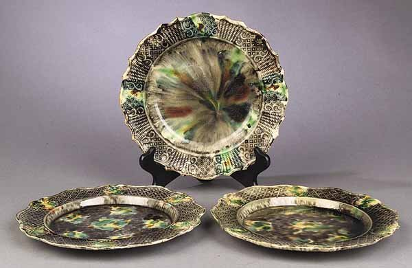 0268: A Pair of Whieldon Pottery Plates and