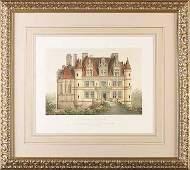 0103: Six Handcolored Lithographs by Petit, Paris, 1861